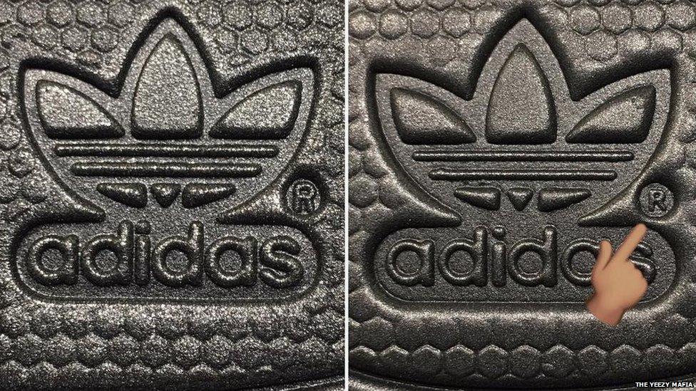 fake adidas yeezy shoes