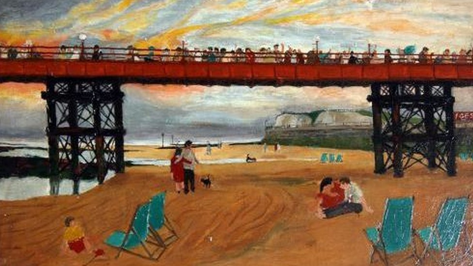 Disembarkation from 'The Queen of Thanet' by Pamela Izzard