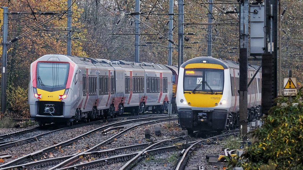 First of Abellio Greater Anglia new Swiss trains arrive