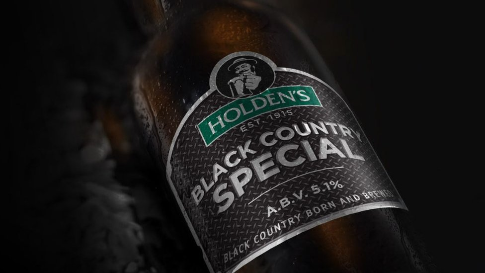 Bottle of Holden's beer
