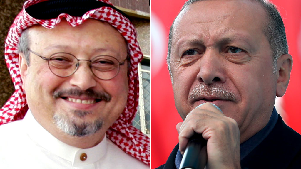 "Khashoggi murder 'planned days in advance"" - Turkey's Erdogan"