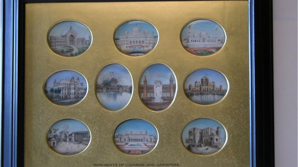 Miniatures of Lucknow