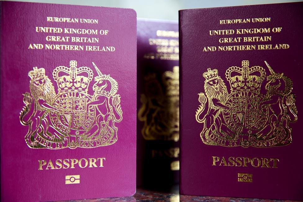 جواز السفر البريطاني