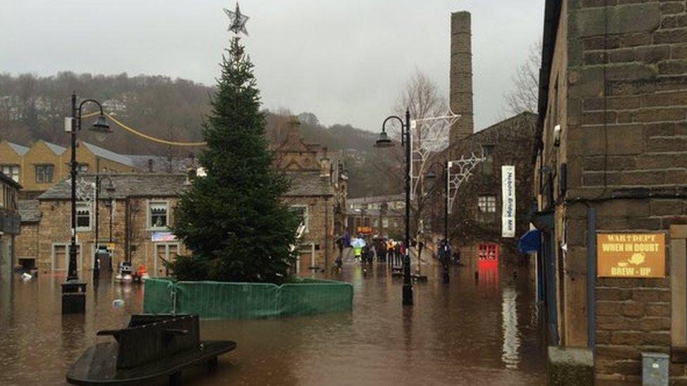 Calder Valley flood defences improved with £8m grants