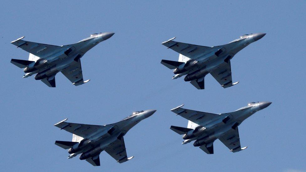 Aviones Sukhoi Su-35