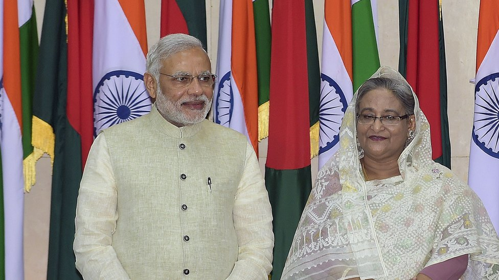 India and Bangladesh signed a landmark border deal in 2015