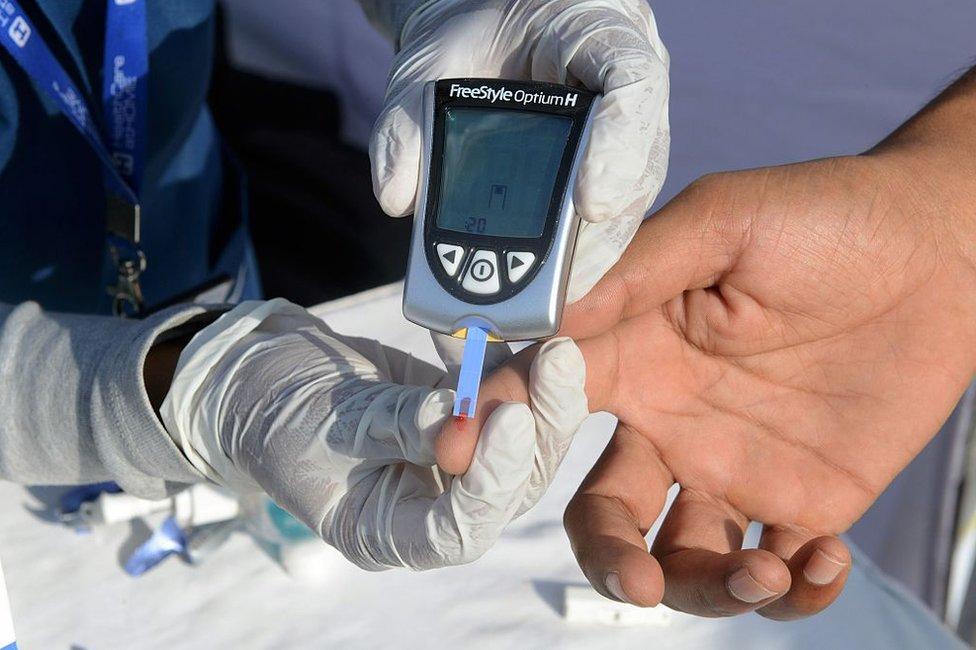 Merenje nivoa šećera u krvi