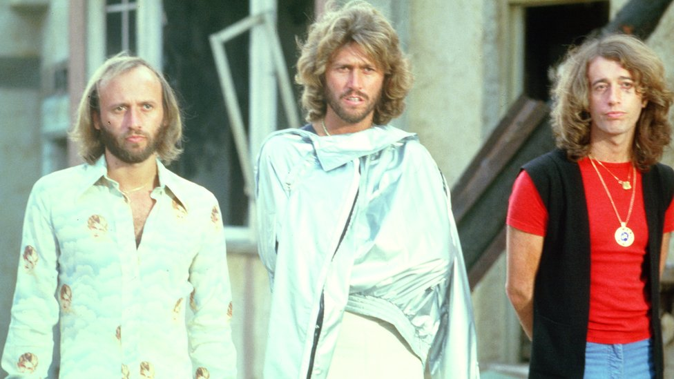 Plan For Stayin Alive Bee Gees Statue On Douglas Seafront Revealed Bbc News
