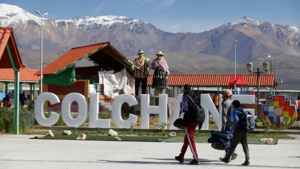Pueblo de Colchane, Chile