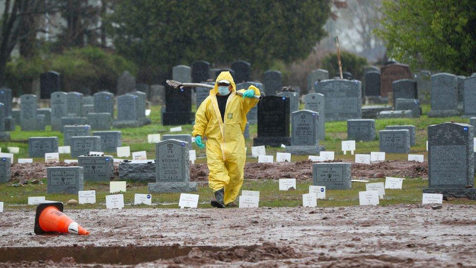 Cementerio en Nueva York
