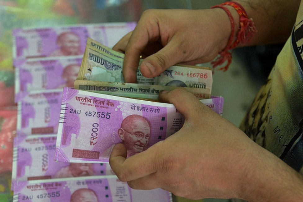 نقود هندية