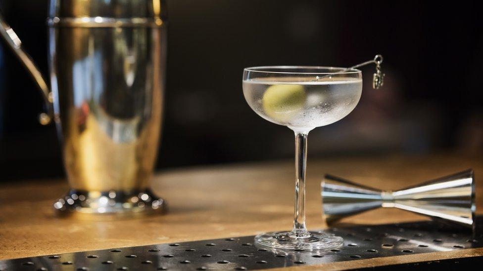 A Martini stock photo