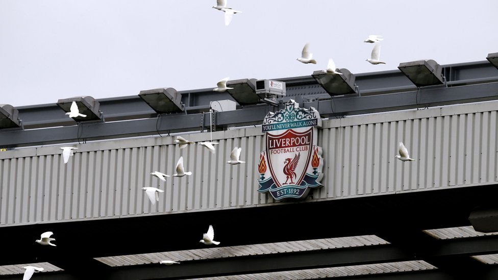 Doves and the LFC sign