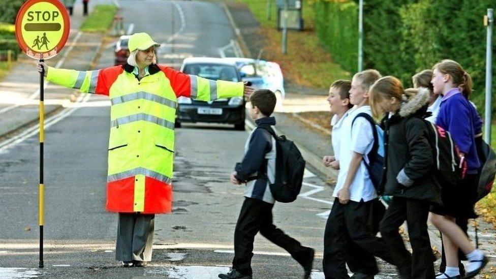 Schoolchildren safety fear over fewer lollipop men and women