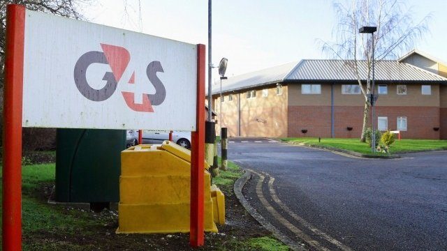 Medway Secure Training Centre run by G4S in Rochester, Kent,