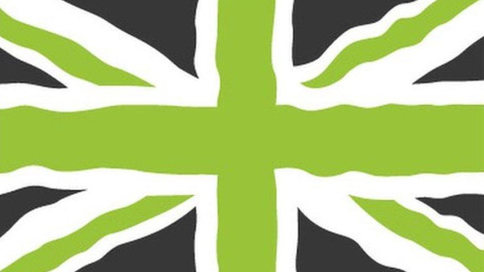Legal row over government's flag logo
