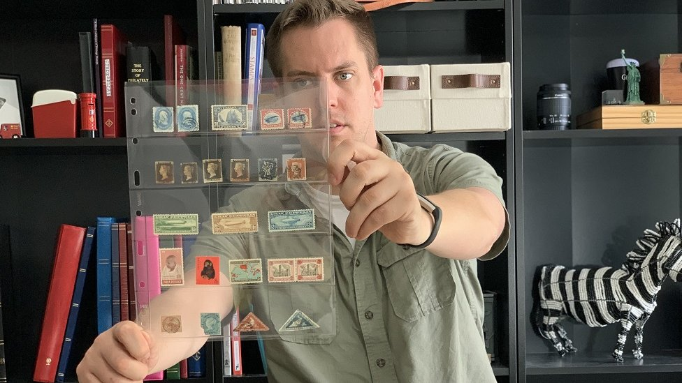 Graham Beck, Stamp collector