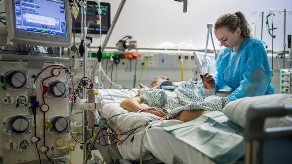 Alemania tiene una de las mejores distribuciones de hospitales respecto a sus habitantes en el mundo.