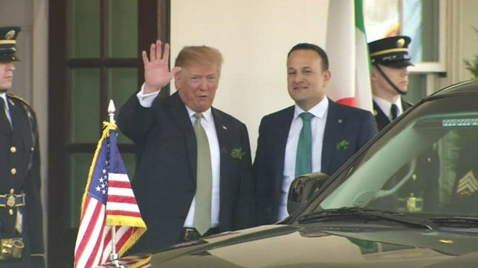 Donald Trump says he will visit Ireland this year