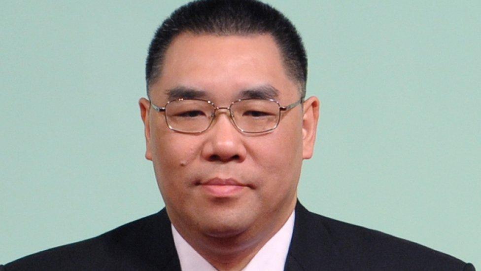 Macau's chief executive, Fernando Chui
