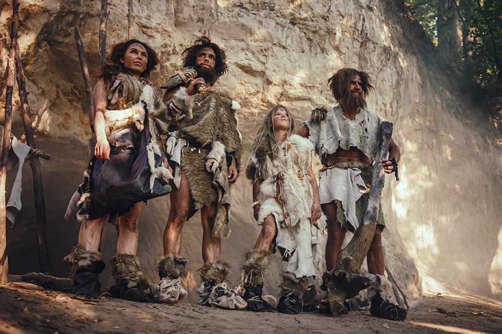 Tribu de cazadores-recolectores