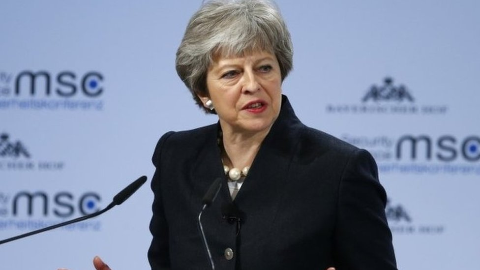 May: New security deal should be effective by next year