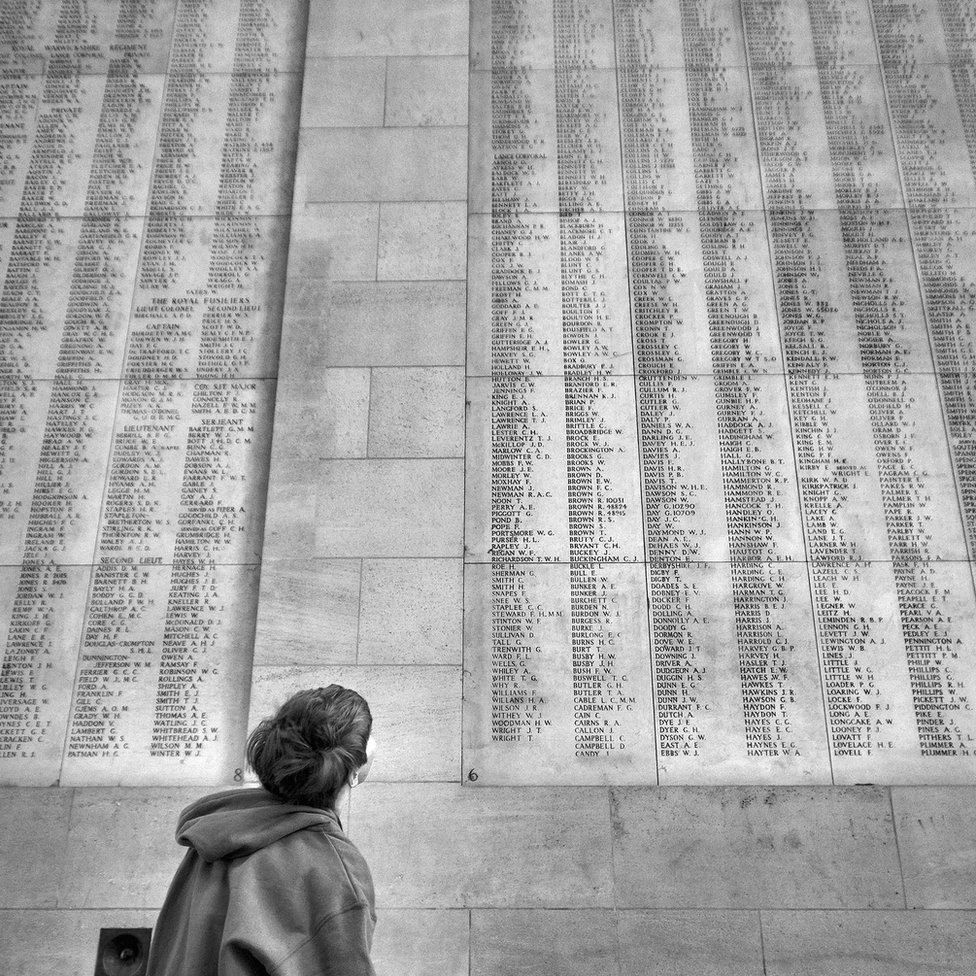 Menin Gate war memorial, Ypres
