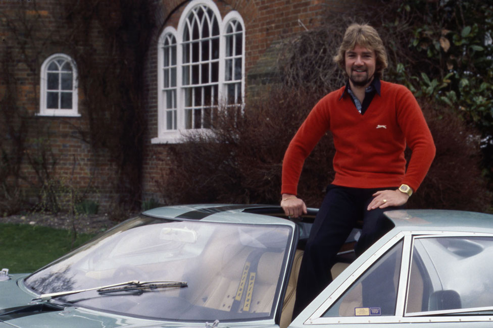 Noel Edmonds hosting Top Gear in 1979