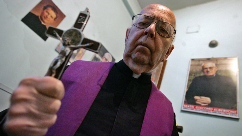 The Church's most prominent exorcist, Gabriele Amorth, died in September 2016
