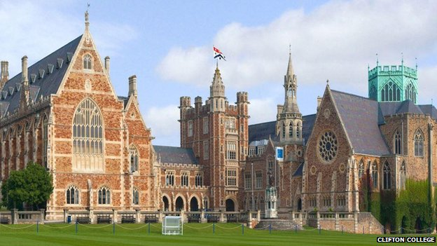 View of Clifton College