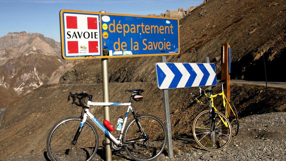 Bicikli u francuskim Alpima
