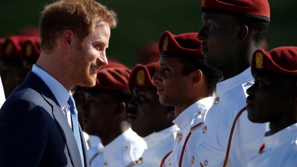 Harry in Antigua