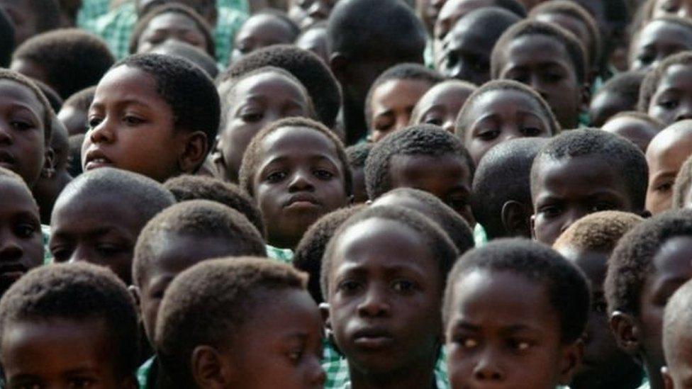 anak muda Afrika