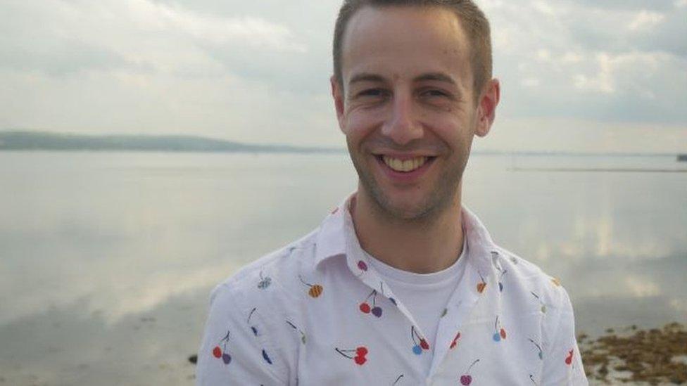Matthew Cavan talks about his experiences as a gay man in Northern Ireland