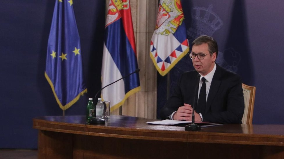 Vucic doing things