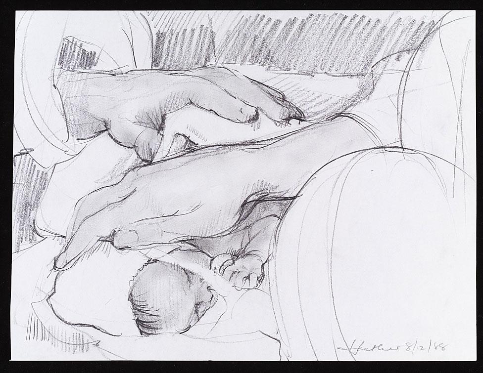 Tocando a un bebé prematuro