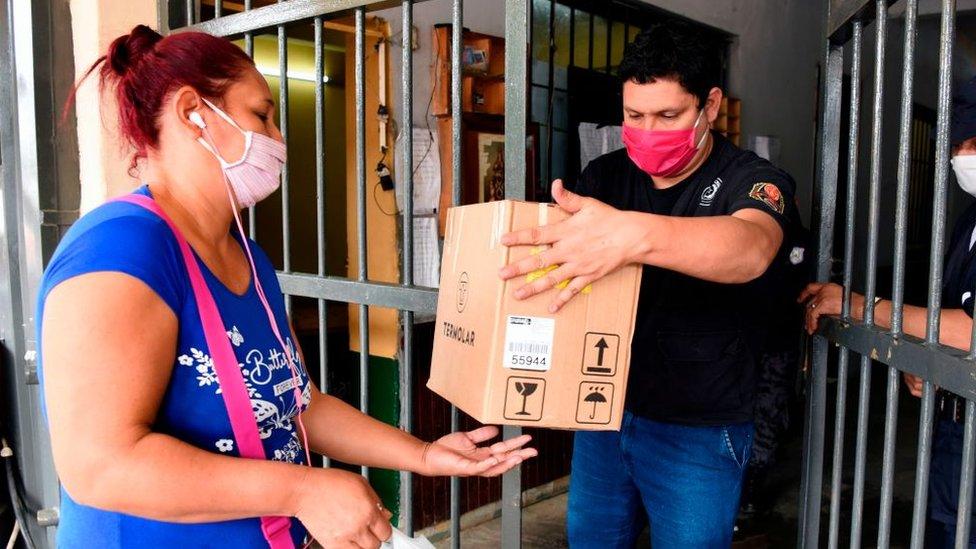 Pobladores en Paraguay