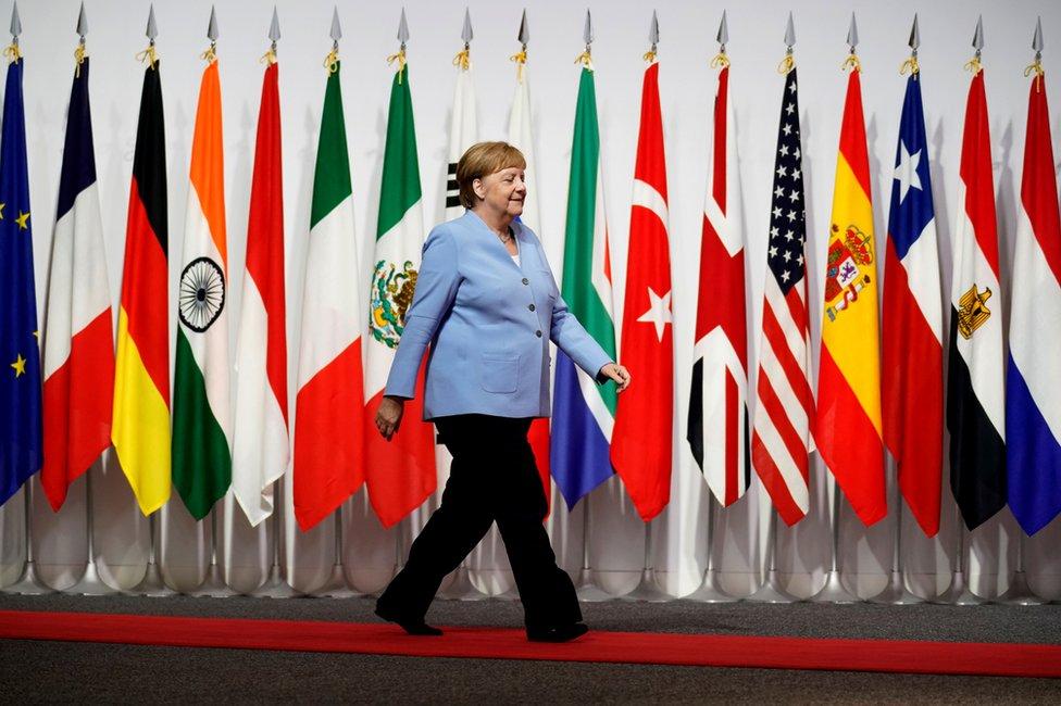 Angela Merkel na samitu G20