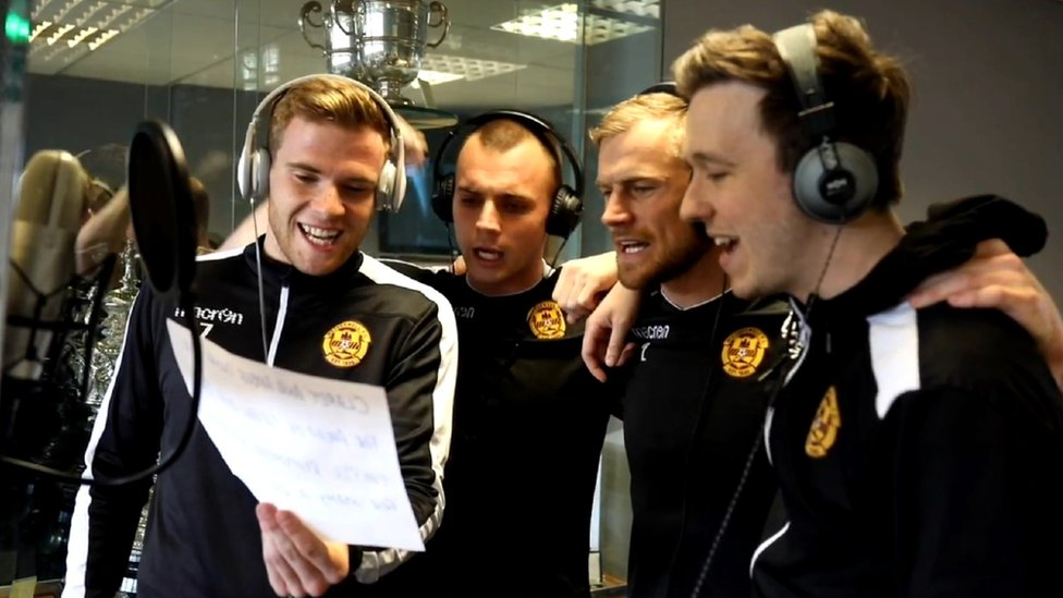 Motherwell goes 'crazy' for Up The Well cup final song