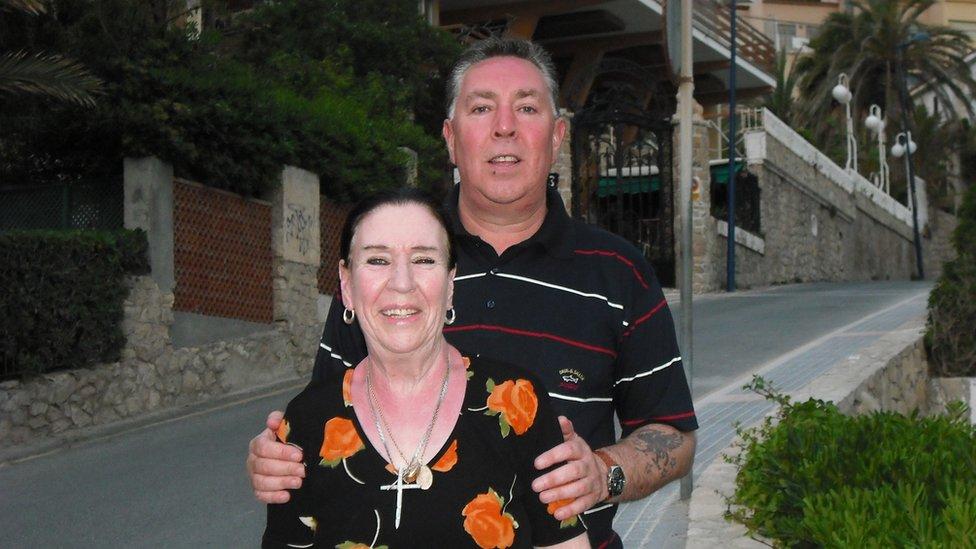 Richard and Sheila
