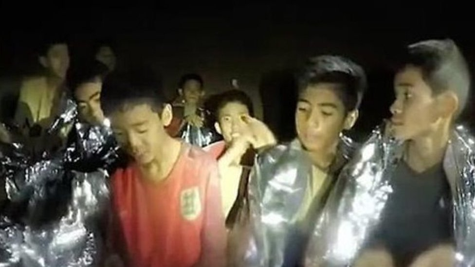 Thailand cave rescue: Children found 'by smell'