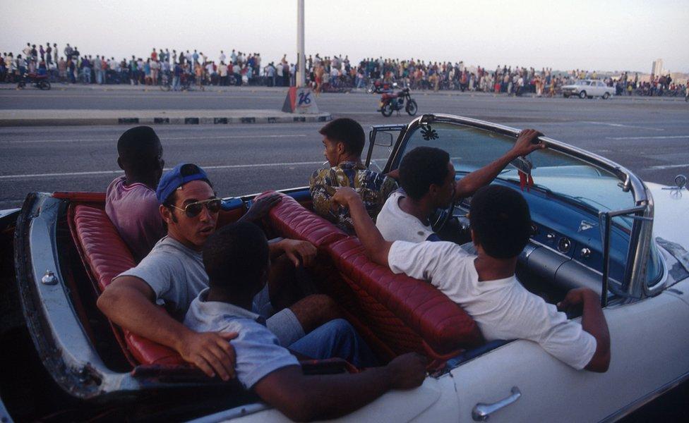 Economic situation in Havana, Cuba in September, 1994