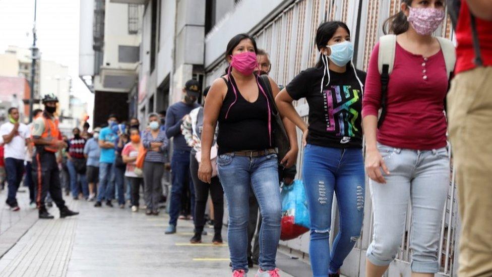 El modelo venezolano alterna periodos de cuarentena con otros de relajación de las medidas