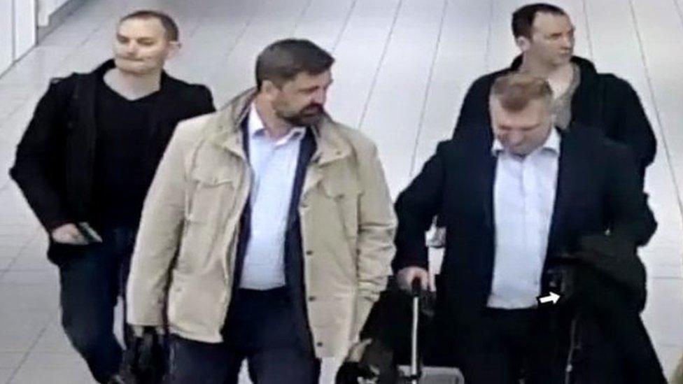 suspected agents