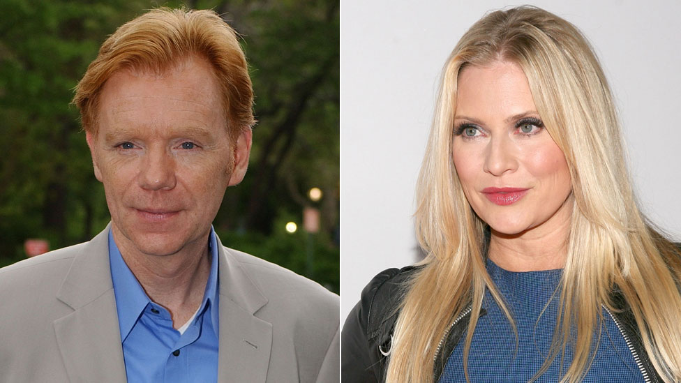 David Caruso and Emily Procter