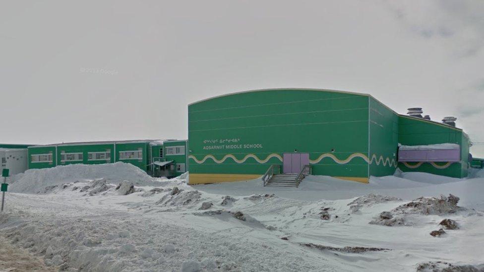 One of Iqaluit's schools
