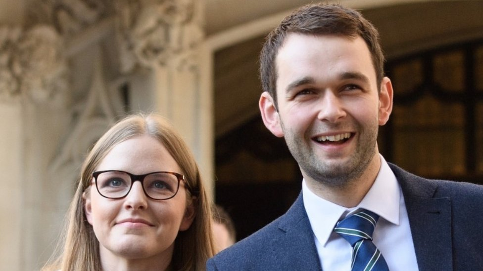 Daniel McArthur and his wife Amy