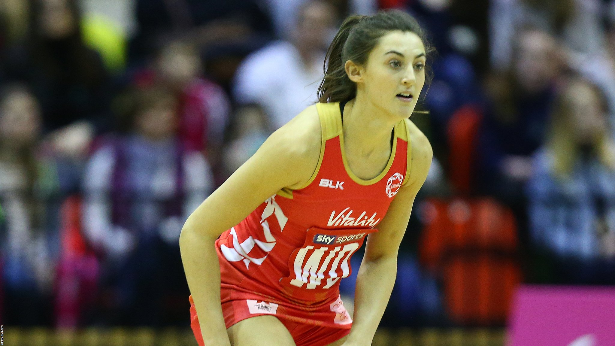 England defender Beth Cobden a doubt for next year's Netball World Cup