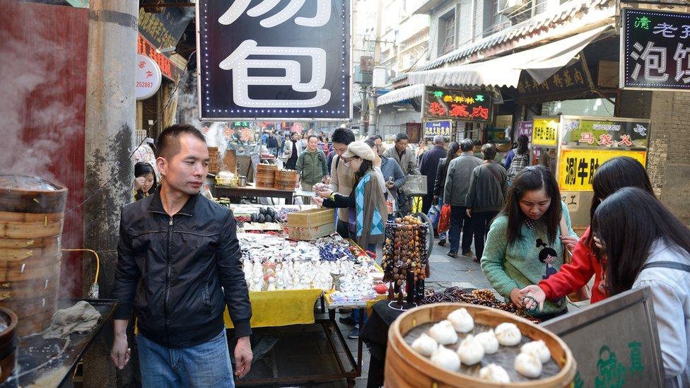 pijaca u Kini danas