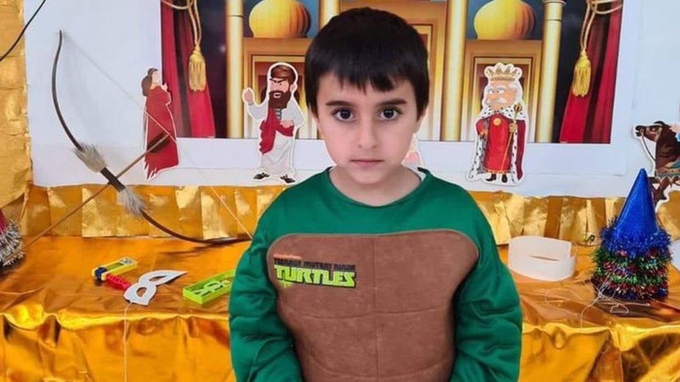 Ido Avigal, 5, murió en un ataque de Hamas